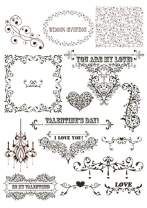 Vintage Decor Free Vector Cdr