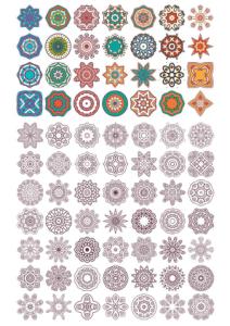 Vector Mandala Ornaments Free Vector Cdr