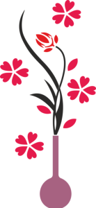Flower Vase Wall Decals Free Vector Cdr