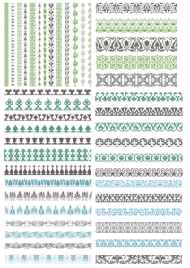 Vector Decorative Borders Free Vector Cdr