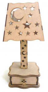 Lamp Stand Laser Cut Free Vector Cdr