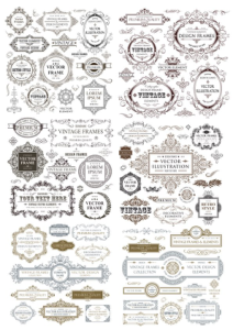 Vintage Collection Free Vector Cdr