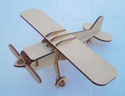 Cessna Laser Cut 3d Model Free Vector Cdr