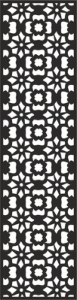 Flower Carving Pattern Free Vector Cdr