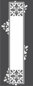 Glass doors pattern Free Vector Cdr