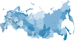 Russia Map Highly Detailed Vector Free Vector Cdr
