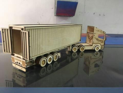 Scania R580 Laser Cut Free Vector Cdr