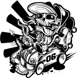 Skate Racer By Mrchugchug vector Free Vector Cdr