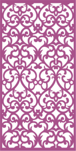 Abstract Laser Cut Panel Pattern Floral Free Vector Cdr