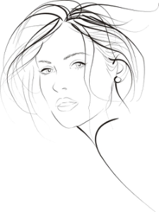 Young Fashion Woman Vector Free Vector Cdr