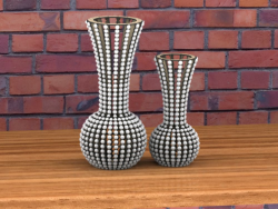Vase laser cut plywood Free Vector Cdr