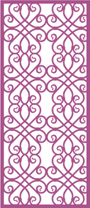 Laser Cut Vector Panel Seamless 292 Free Vector Cdr