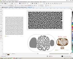 Maze Free Vector Cdr