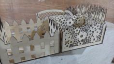 Decorative Baskets Laser Cut Free Vector Cdr