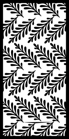 Black And White Flower Pattern Free Vector Cdr