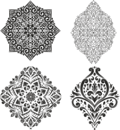 Decor Vector Set Free Vector Cdr