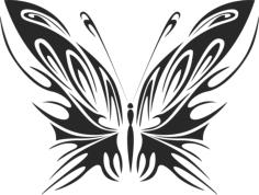 Butterfly Vector Art 040 Free Vector Cdr