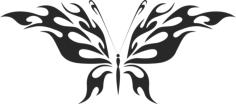 Butterfly Vector Art 045 Free Vector Cdr