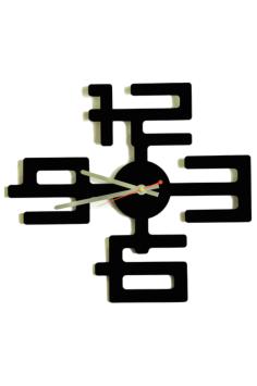 Laser Cut Interior Clock Free Vector Cdr