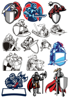 Knight Set Free Vector Cdr