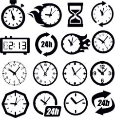 Clock Cdr Maket Dlya Lazernoy Rezki Free Vector Cdr