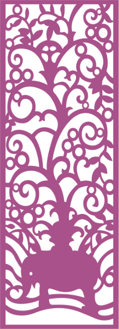Decorative Laser Cut Screen Free Vector Cdr
