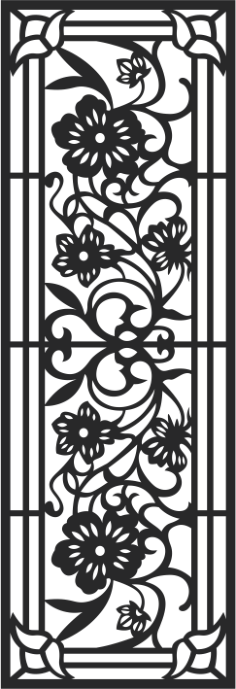 Fence Panels Pattern Free Vector Cdr