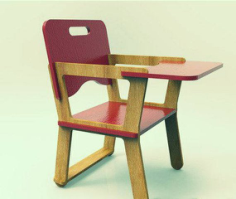 Doll High Chair 6mm Free Vector Cdr