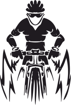 Mountain Bike Vector Free Vector Cdr