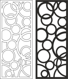 Wooden Separator pattern Free Vector Cdr