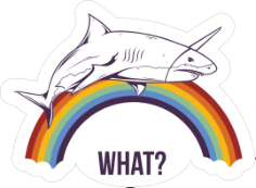 What Shark Sticker Free Vector Cdr