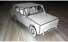 Car Vaz 2101 Free Vector Cdr