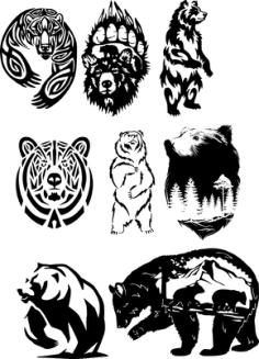 Wildlife Vector Art Free Vector Cdr