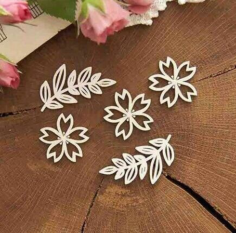 Decoration Flowers Laser Cut Free Vector Cdr