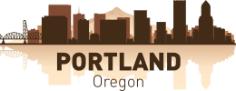 Portland Skyline Free Vector Cdr