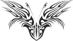 Butterfly Vector Art 046 Free Vector Cdr