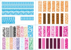 Screen Patterns Mega Collection Free Vector Cdr