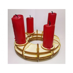 Candlestick Holder Laser Cut Free Vector Cdr