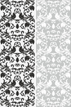 Seamless Victorian Pattern Free Vector Cdr