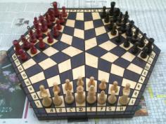 Shashki Board 3 Players Free Vector Cdr
