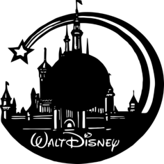 Walt Disney Vinyl Wall Clock Free Vector Cdr