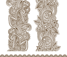 Vector Illustration Mehndi Vector Free Vector Cdr