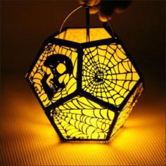 Halloween 3D Lamp Free Vector Cdr