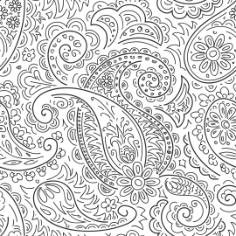 Handdrawn Ornament Pattern Free Vector Cdr