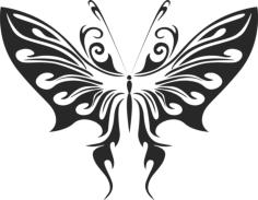 Butterfly Vector Art 008 Free Vector Cdr