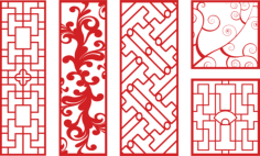 Vector Art CNC Patterns Free Vector Cdr