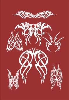 Tribal Logo Free Vector Cdr