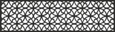 Laser Cut Pattern Template Wood Screen Free Vector Cdr