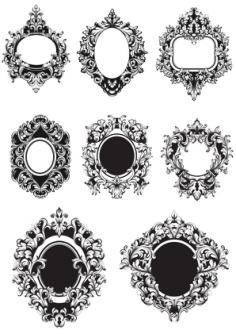 Barocco Frame Free Vector Cdr