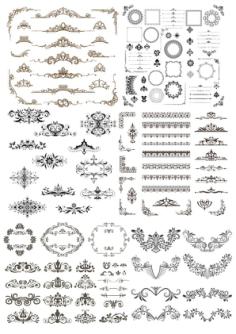 Design Elements vectors Free Vector Cdr